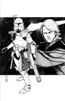 Commanders and Generals: Rex and Anakin Inked by Hodges-Art