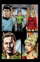 Star Trek page 2 color by ShawnVanBriesen