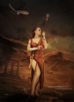 Athena's Last Days by shadeley