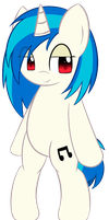 Vinyl Scratch by PokuMii