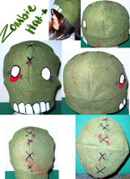 zombie hat by wolffang56