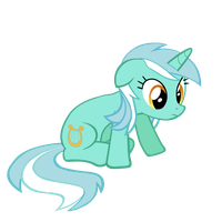 [VECTOR] Lyra getting up by TriteBristle