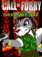 Call of Furry cover by SilverSimba01
