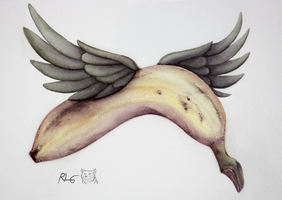 Winged Nanner by CrimzonLogic