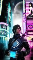 located in the neon city by raven1303