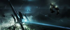 Tron Legacy Artwork by vyle-art
