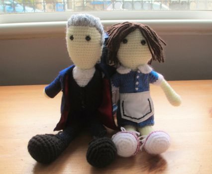 Doctor Who: Twelve and Clara 'Hell Bent' by fourthimbles
