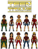 Teen Titans by dudebrah