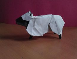 Origami Sheep by Shpoo22