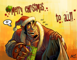Merry Christmas by njay
