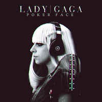 Lady Gaga Poker Face CD COVER by GaGanthony