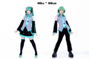 Miku - Mikuo by Onnies