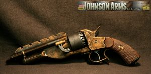 Jayne's Pistol in Bronze by JohnsonArms