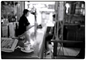 One more cup of coffee by leica