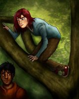 Up A Tree by catgirl123
