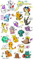 Pokemon Chibi Requests! by Eeveelutions95