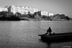 Urban fisherman. by Taro1984