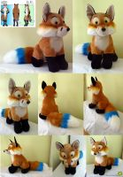 Plushie made on commission by Javamoos