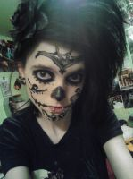 Myself- Day of the Dead makeup by Chynna97