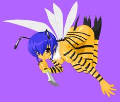 Bumble Bee Fairy by Dinalfos5