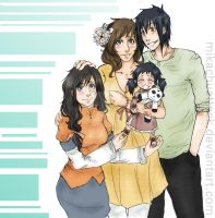 Koyanagi Family: Past by MikachuAttack