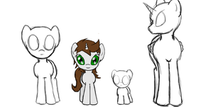Size Comparison by VeraciousNeophyte