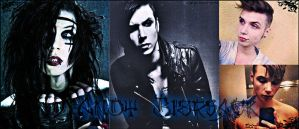 Andy Biersack Facebook Cover Photo/Twitter Header. by Shad0w-M0ses