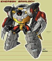DON's Energon Grimlock by hansime