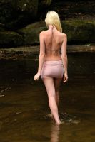 Kahli - pink skirt back 1 by wildplaces