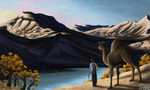 Boy and his Camel by zelos22