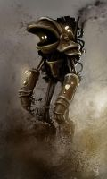 Nice steam robot by LandscapeRunner