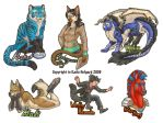 Full Body Badge- round 6 and 7 by Shadow-Wolf