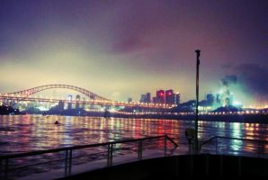 Chongqing Night Scene by OneFive1