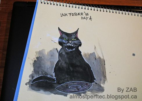 Inktober 2016 Day 4 by AlmostZab