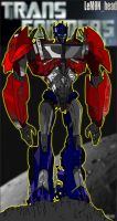 Optimus Prime from TF Prime by LeM0N-head