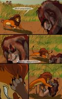 The Dark Lion page 18 by Mydlasfanart