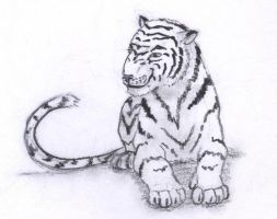 White Tiger by Ranasp