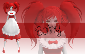 [MMD][SISTERLOCATION][MODEL DOWNLOAD] Baby by MinaOffice