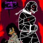 Dragging me down.. by YaoiLover113