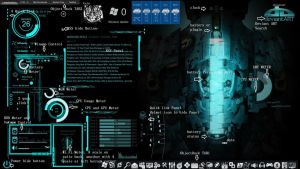 rainmeter dead space rig theme V1 skin pack by louiezzz