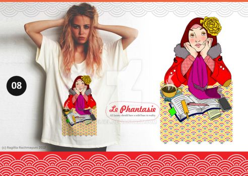 Le Phantasie, Illustration Tshirt 06 by Eijiel