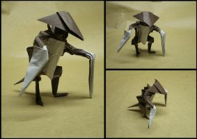 Origami Kabutops by Cyberglass