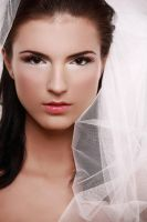 bride portrait1 by scata