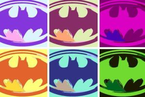 Batman pop art by DevintheCool