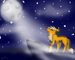 howling at the moon - sass r by x-sno