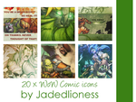 World of Warcraft Comic icons by jadedlioness