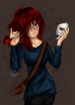 AT with: ScaringSaige by Deaki-chan