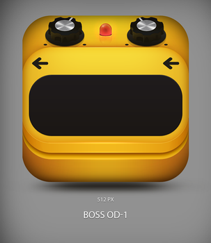 Boss Overdrive Icon by tonehal