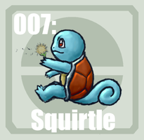 007 Squirtle by Pokedex