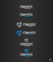 chemist lockers logotype by evolutiongraphic